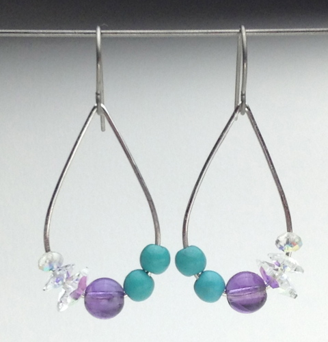 Earrings-Swarovski and Gem Collection 19