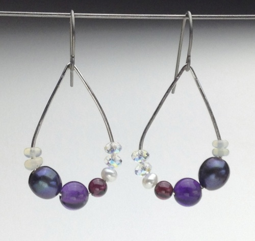 Earrings-Swarovski and Gem Collection 23
