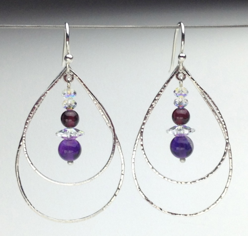 Earrings-Swarovski and Gem Collection 24