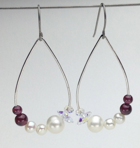Earrings-Swarovski and Gem Collection 25