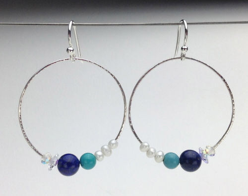 Earrings-Swarovski and Gem Collection 32