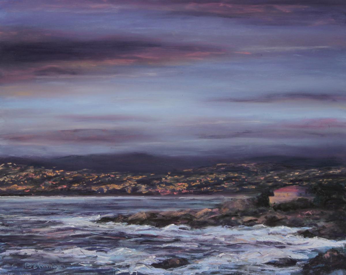 Twilight on Monterey Bay (large view)