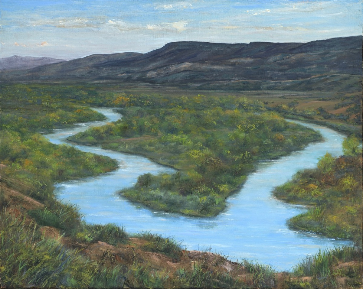 Overlooking the Chama River Valley, New Mexico (large view)