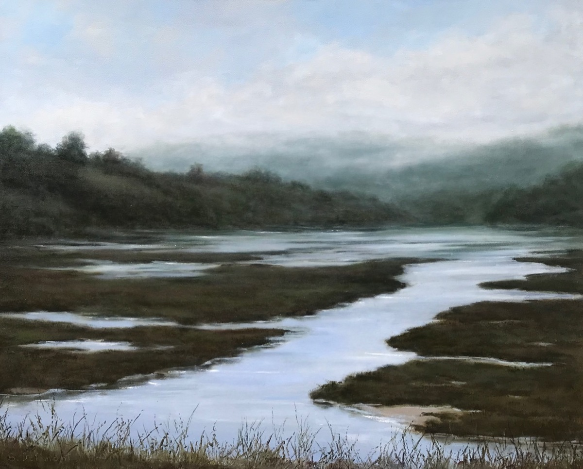Daybreak on Tomales Bay (large view)