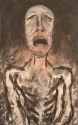 Montero, Matthew Montero, Painting, Figurative, Modern, Contemporary, Picasso, Munch, Bacon, Dark, Pain, Suffering, Oil -  Painting