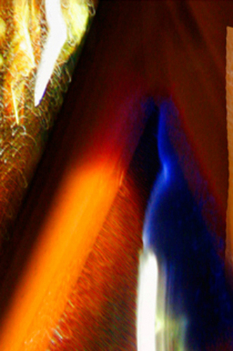 Light Abstraction Study Blue Streak (large view)
