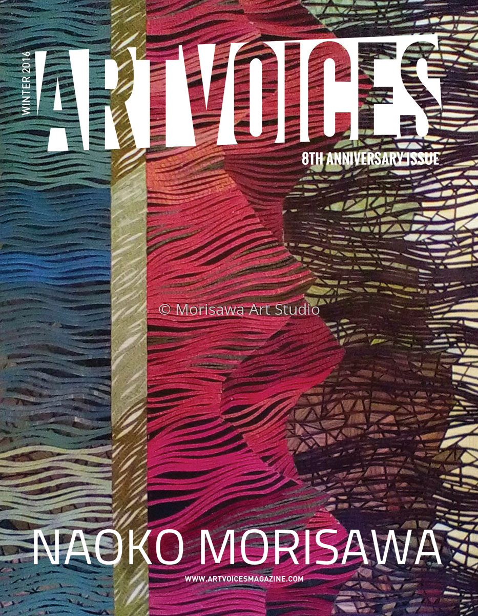 mixed media artvoices magazine front cover 43 issue winter 2016