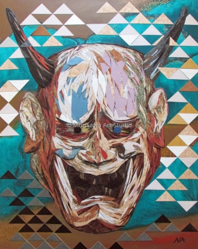 Mask I  Hannya  - Contemporary Japonism by Morisawa Studio