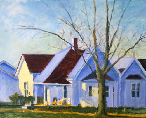 Winter Sun 2 by Mary Mosblech