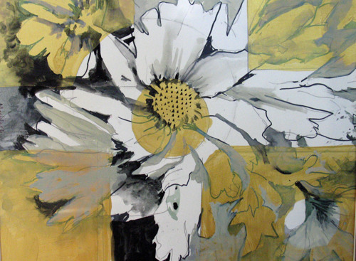 Black and Gold Daisies