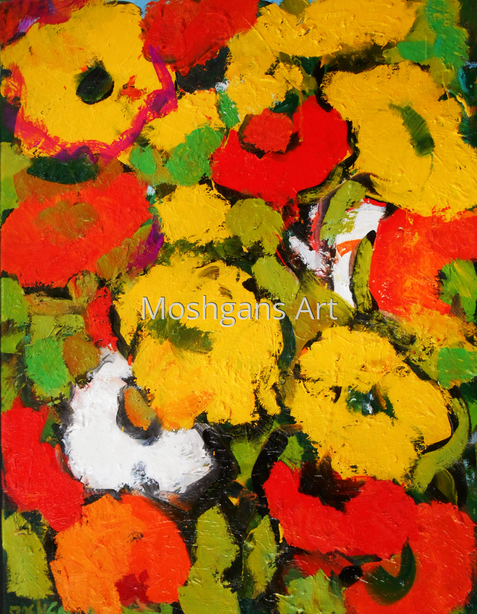 Colorful poppies (large view)