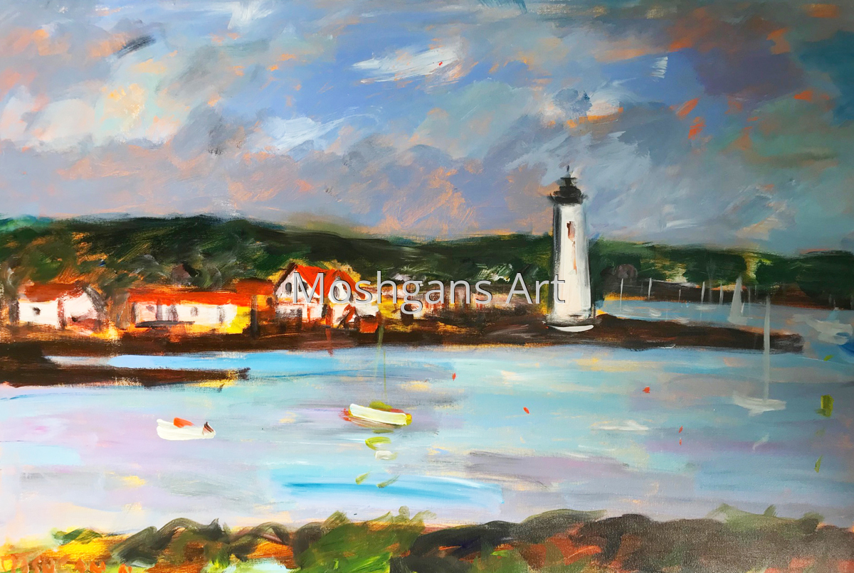 Light House, Maine (large view)