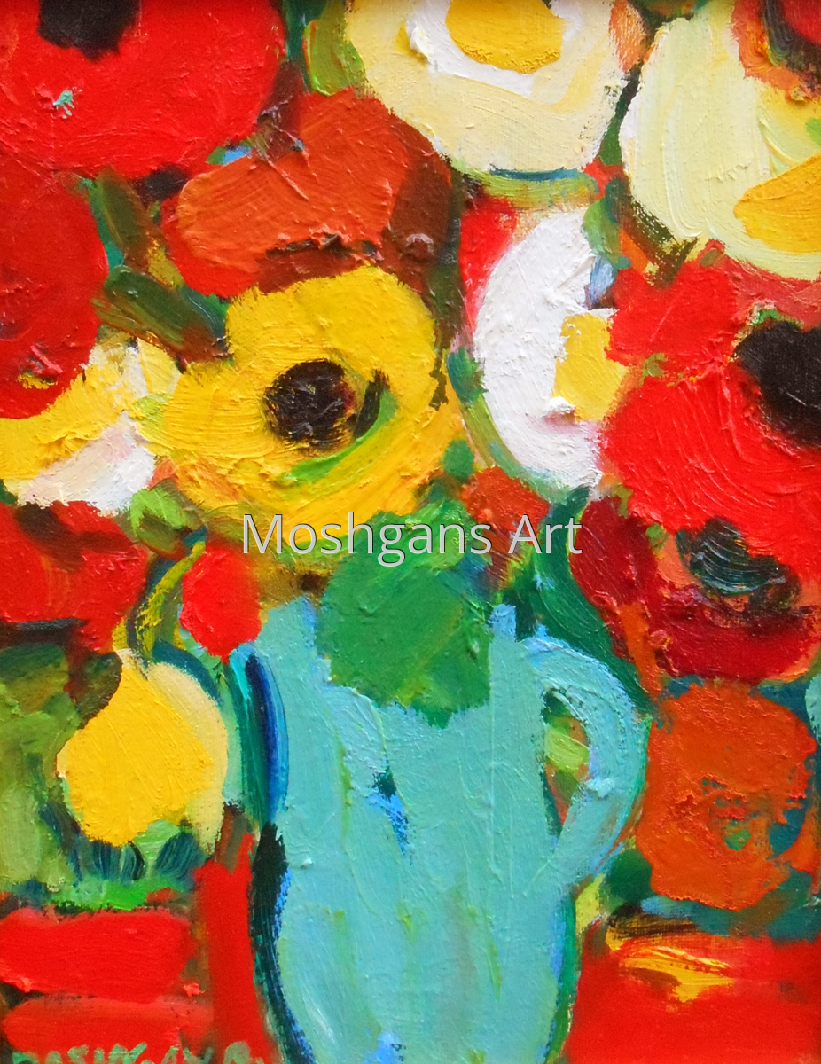 Bouquet pof Poppies (large view)