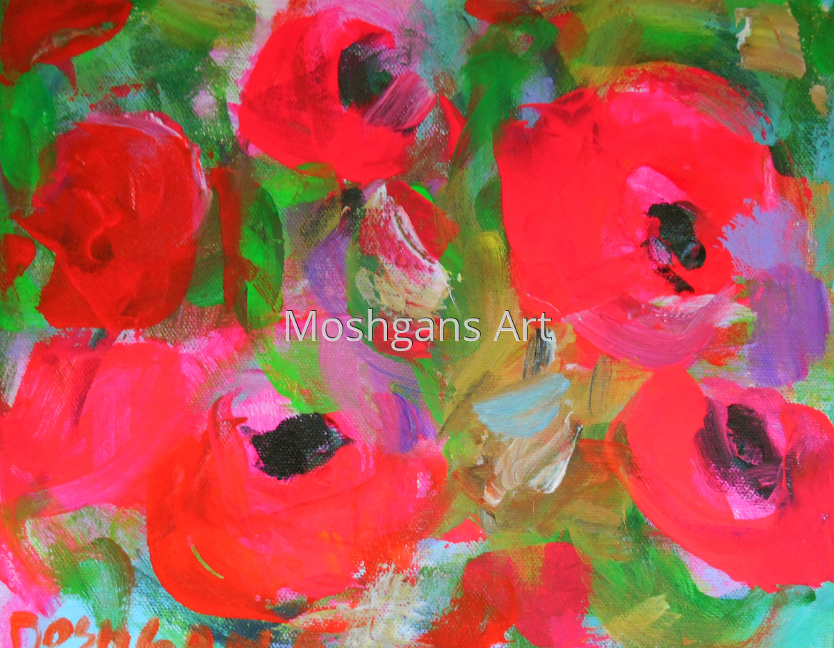 Red Poppies II (large view)