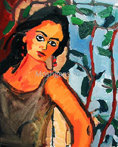 Melancholy by                             MOSHGAN REZANIA