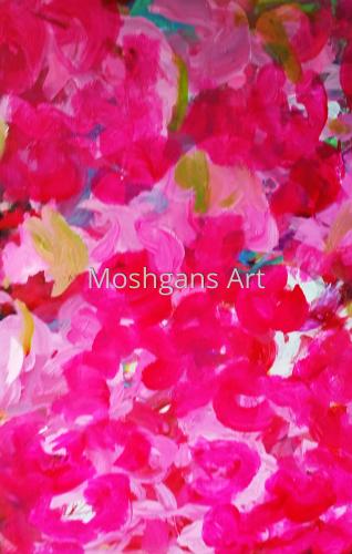 Pink Azalea 1 by                             MOSHGAN REZANIA