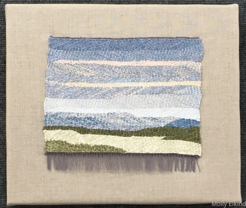 Snowrise by Molly Elkind Tapestry Weaver