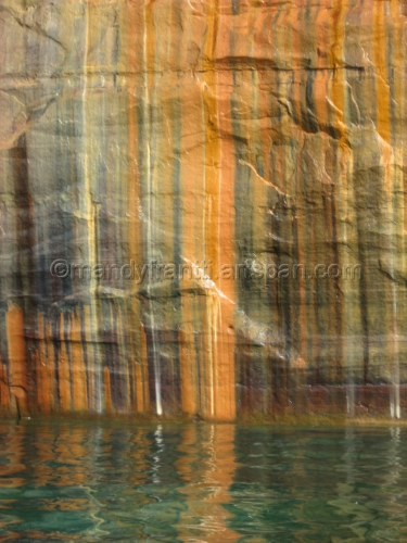 Striped Rocks