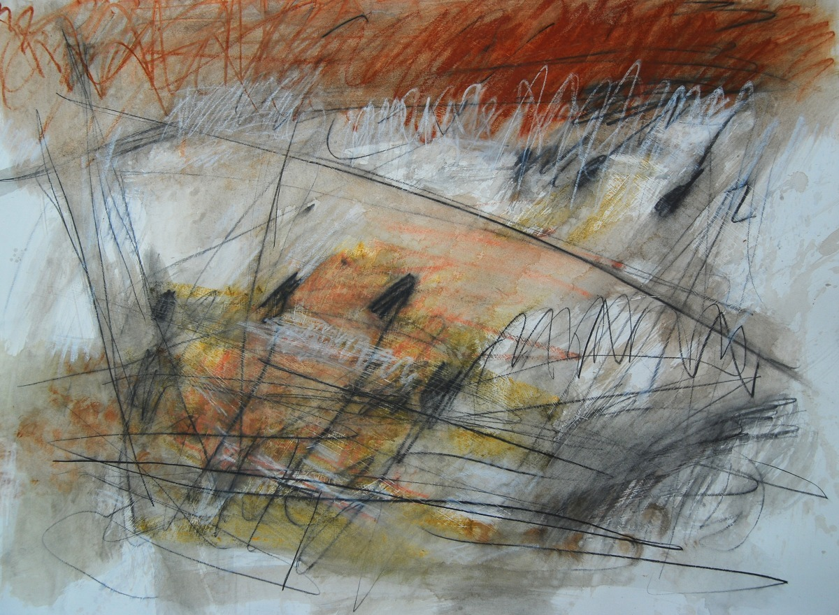 mixed media color drawing on paper (large view)