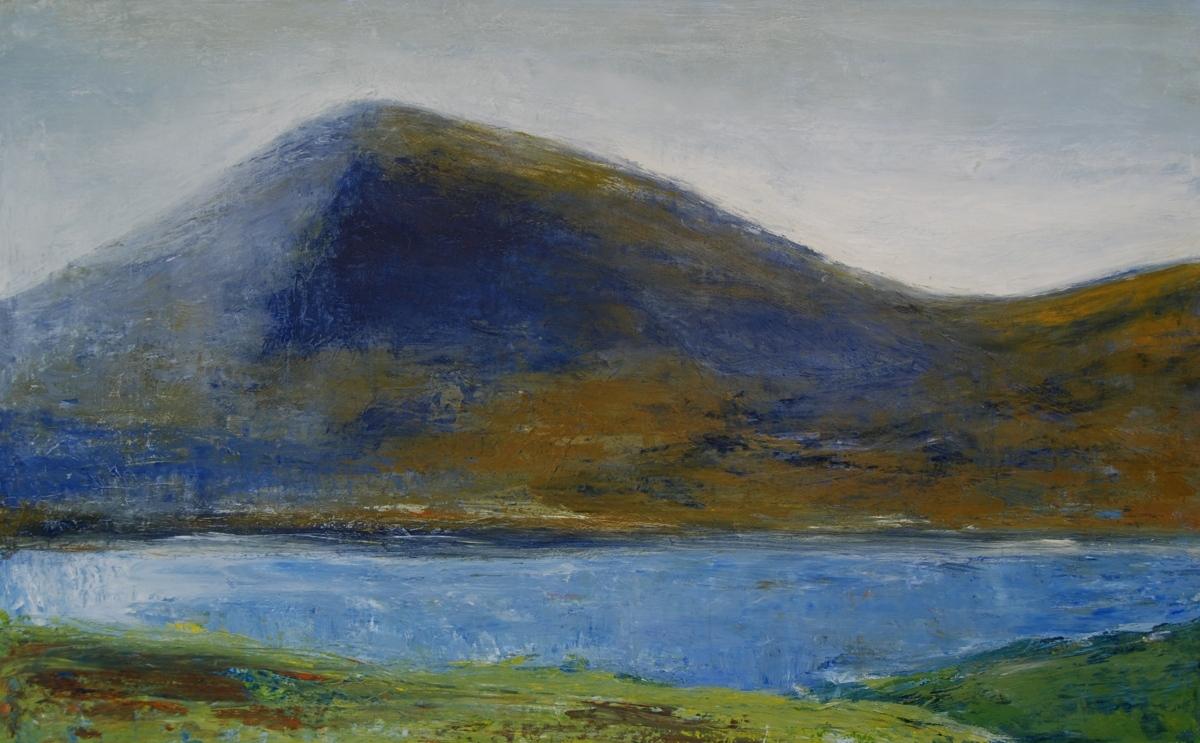 Mountain Range and Lake (large view)