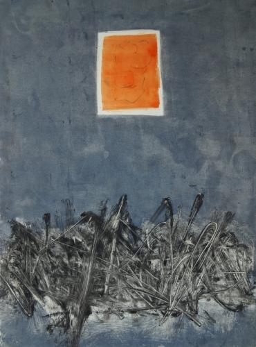Floating Orange Door II (large view)