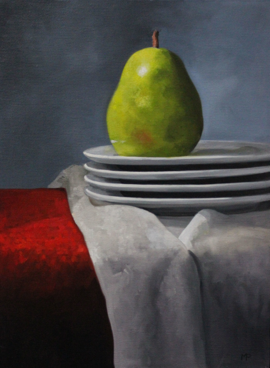 Pear on Plates (large view)