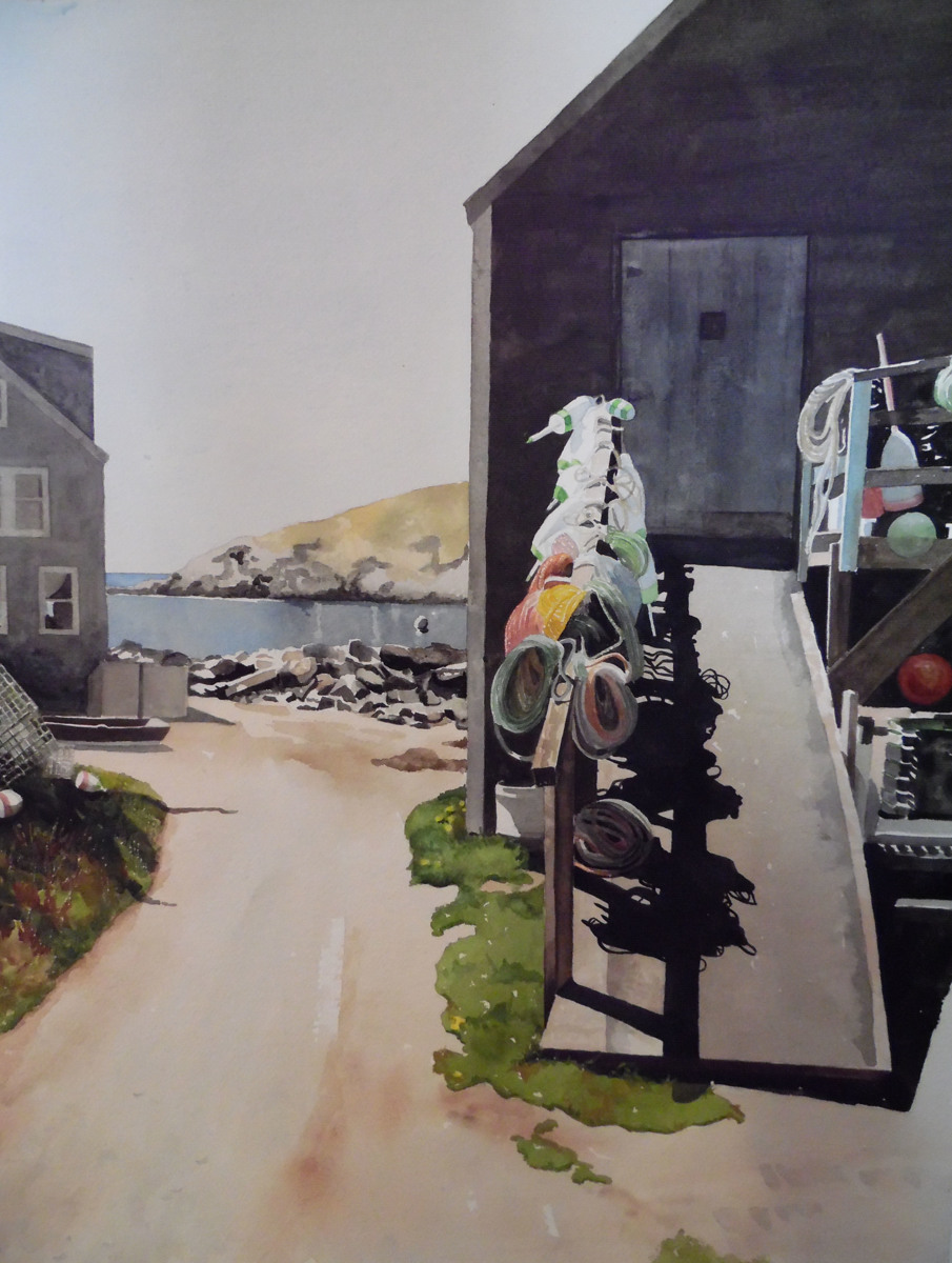 Fish Beach, Monhegan (large view)