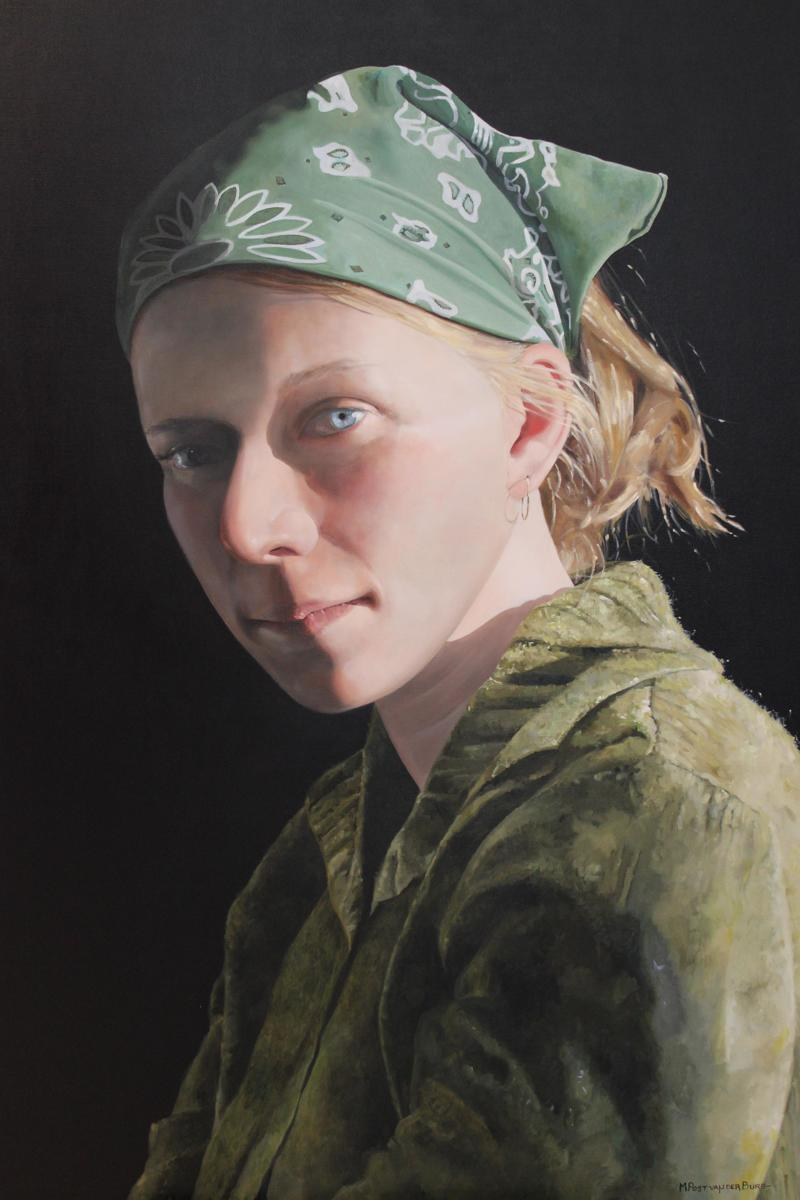 Girl in a Green Bandana (large view)