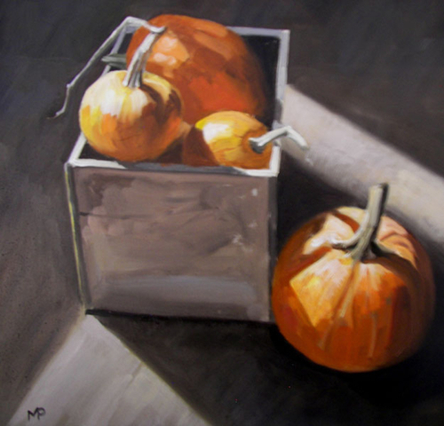 Box Of Pumpkins