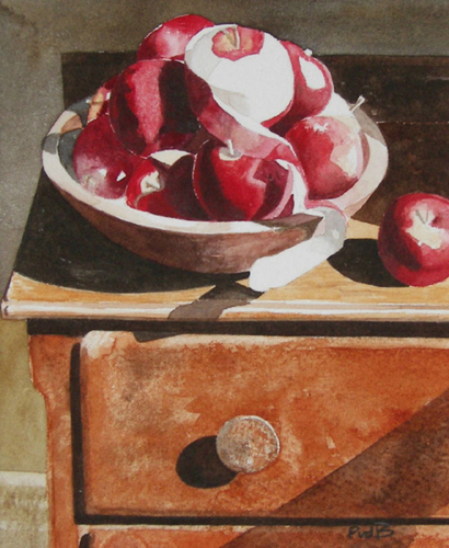 Apples, Bowl and Chest (large view)