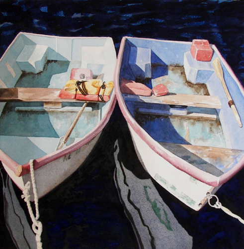 Two Boats Moored (large view)