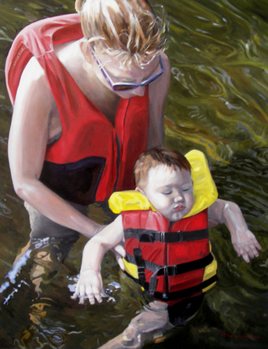 Swim Lesson by M Post van der Burg