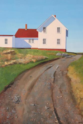 Lighthouse Road - Monhegan Island (large view)