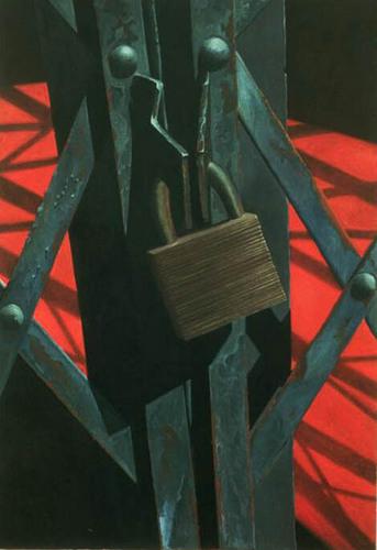 Locked Fence by Scott Geyer