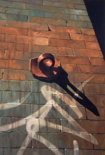 Ring on Brickwall by Scott Geyer