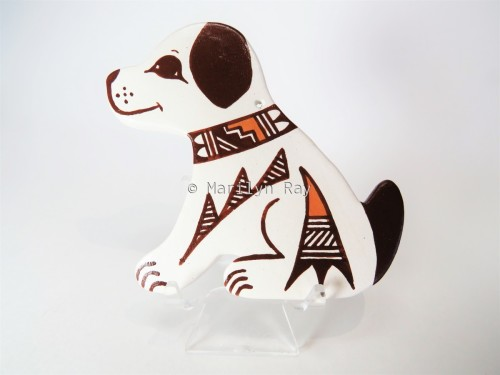 Kiva Step Disigned Dog Ornament by Marilyn Ray