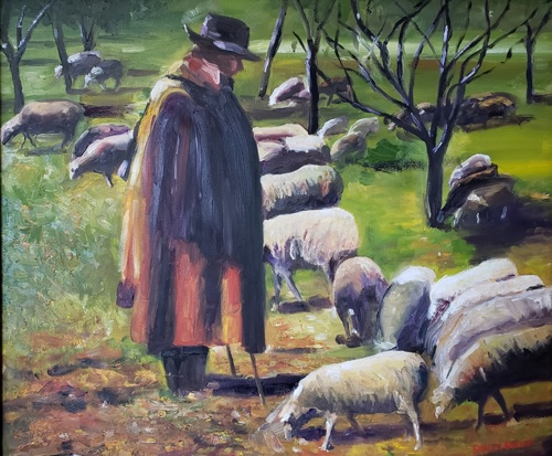 The Shepherd of St. Remy