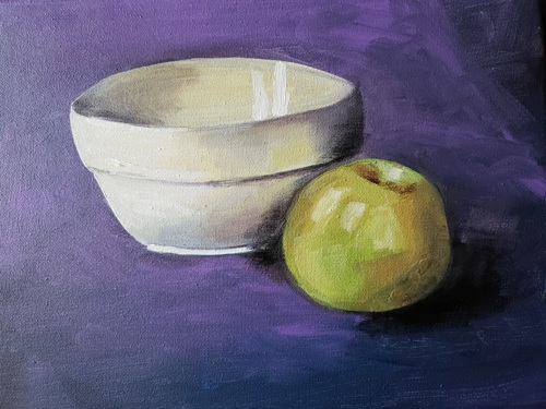 Apple & Bowl