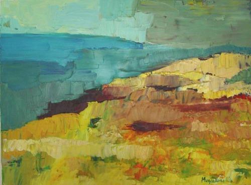 Mellow Landscape by Magdalena Lis Reiber