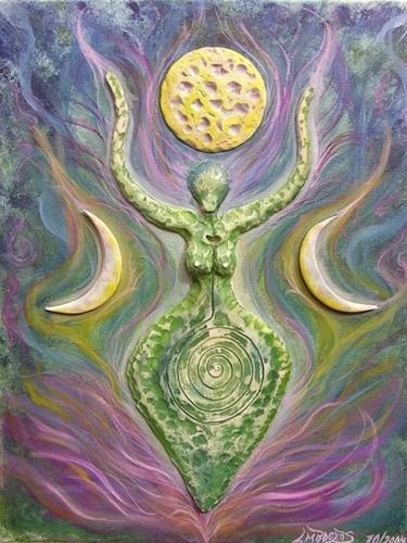 3D Goddess