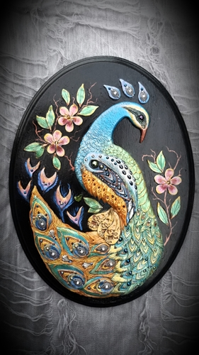 Peacock by Michelle Rogers