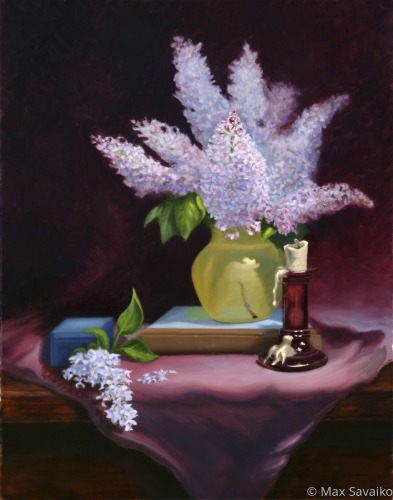 Lilacs on time