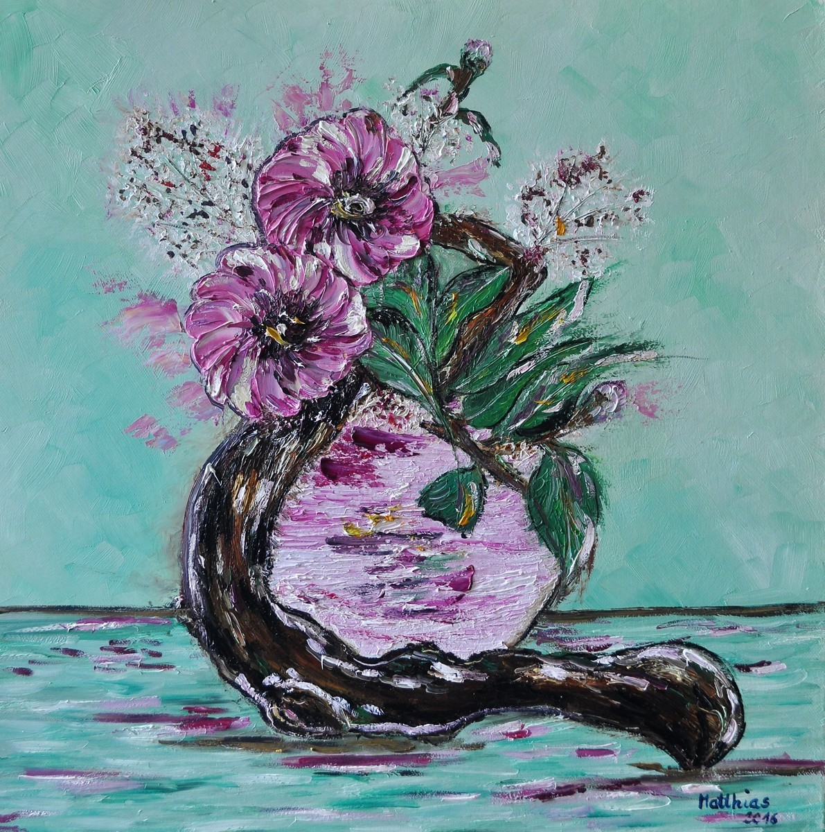 Driftwood with Anemones (large view)
