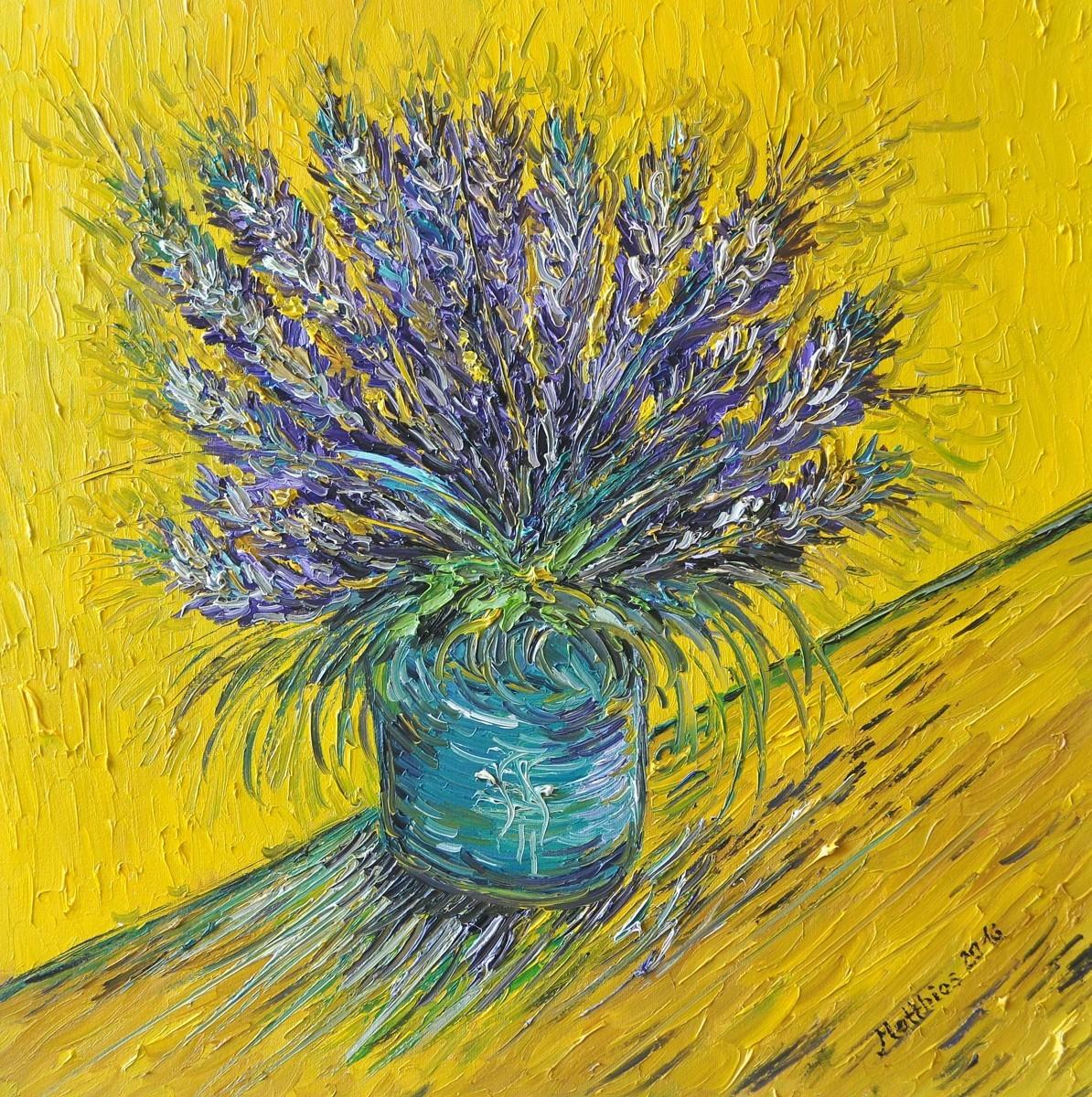 Lavender in Vase     (large view)