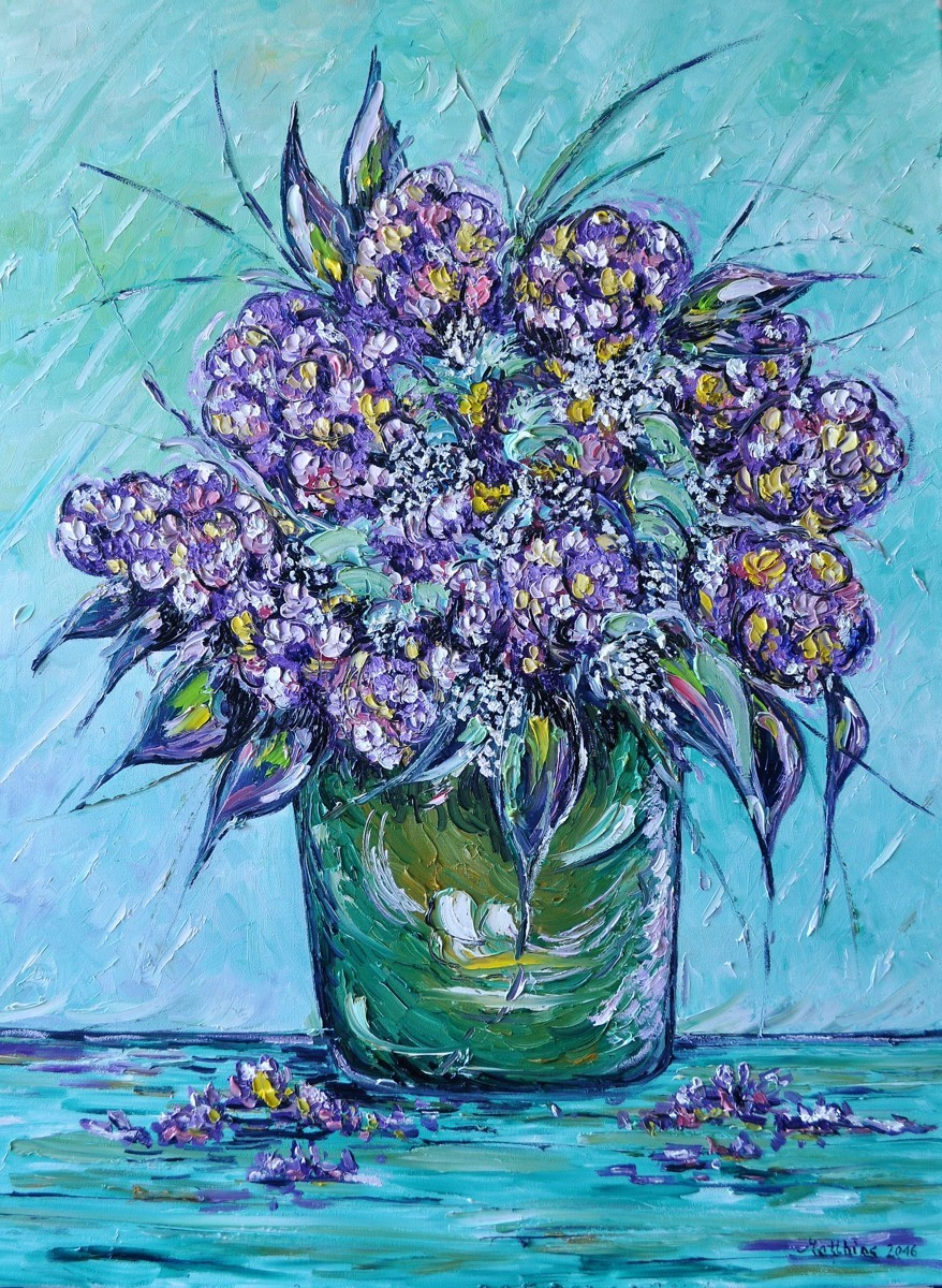 Bouquet of Hydrangeas    (large view)