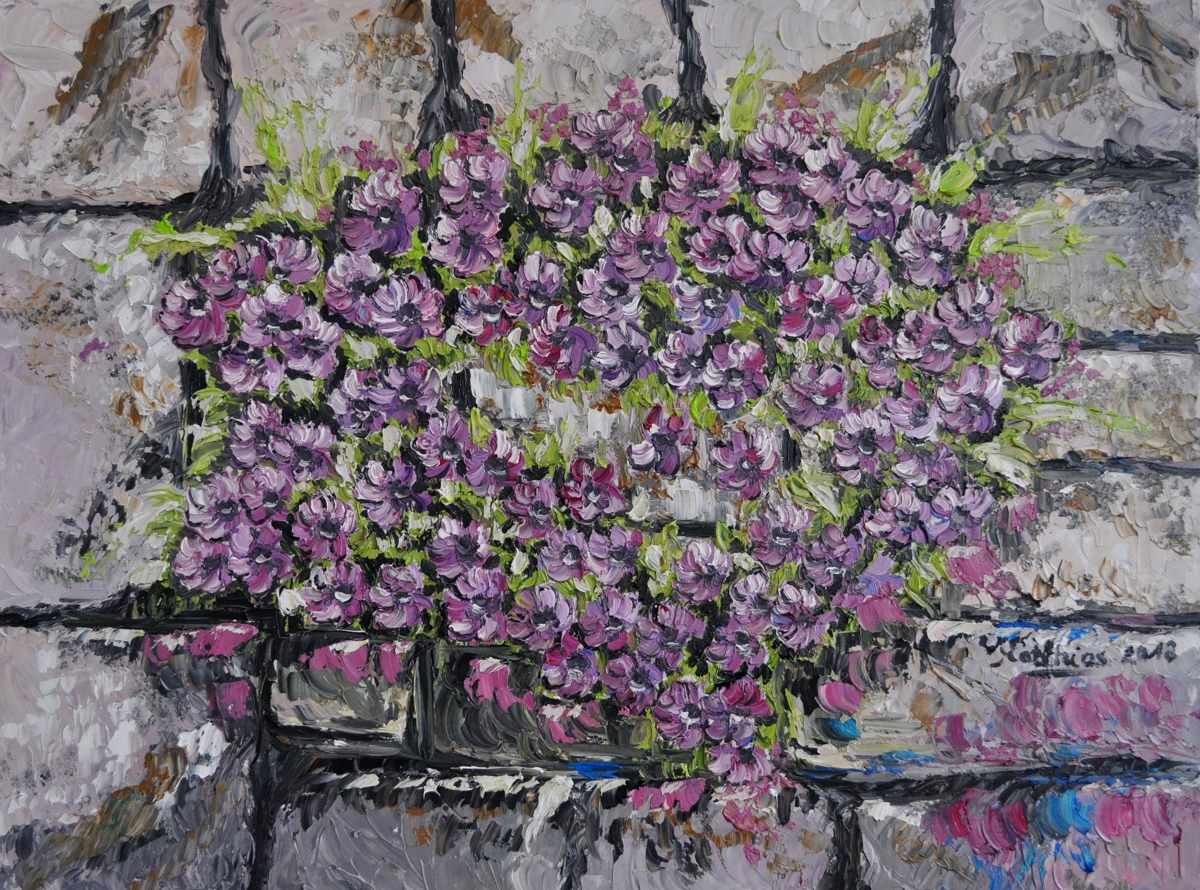 Flowers at Wall  (large view)