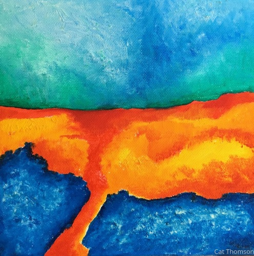 Lava field by Cat Thomson