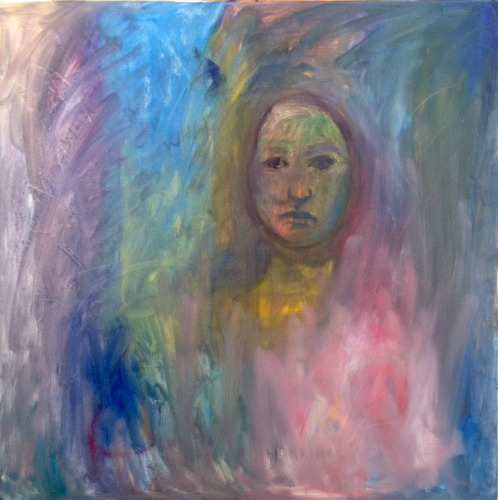 Painting--Oil-AbstractUntitled