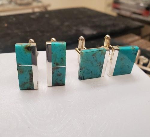Cuff Links  by Marcus Slim Jewelry