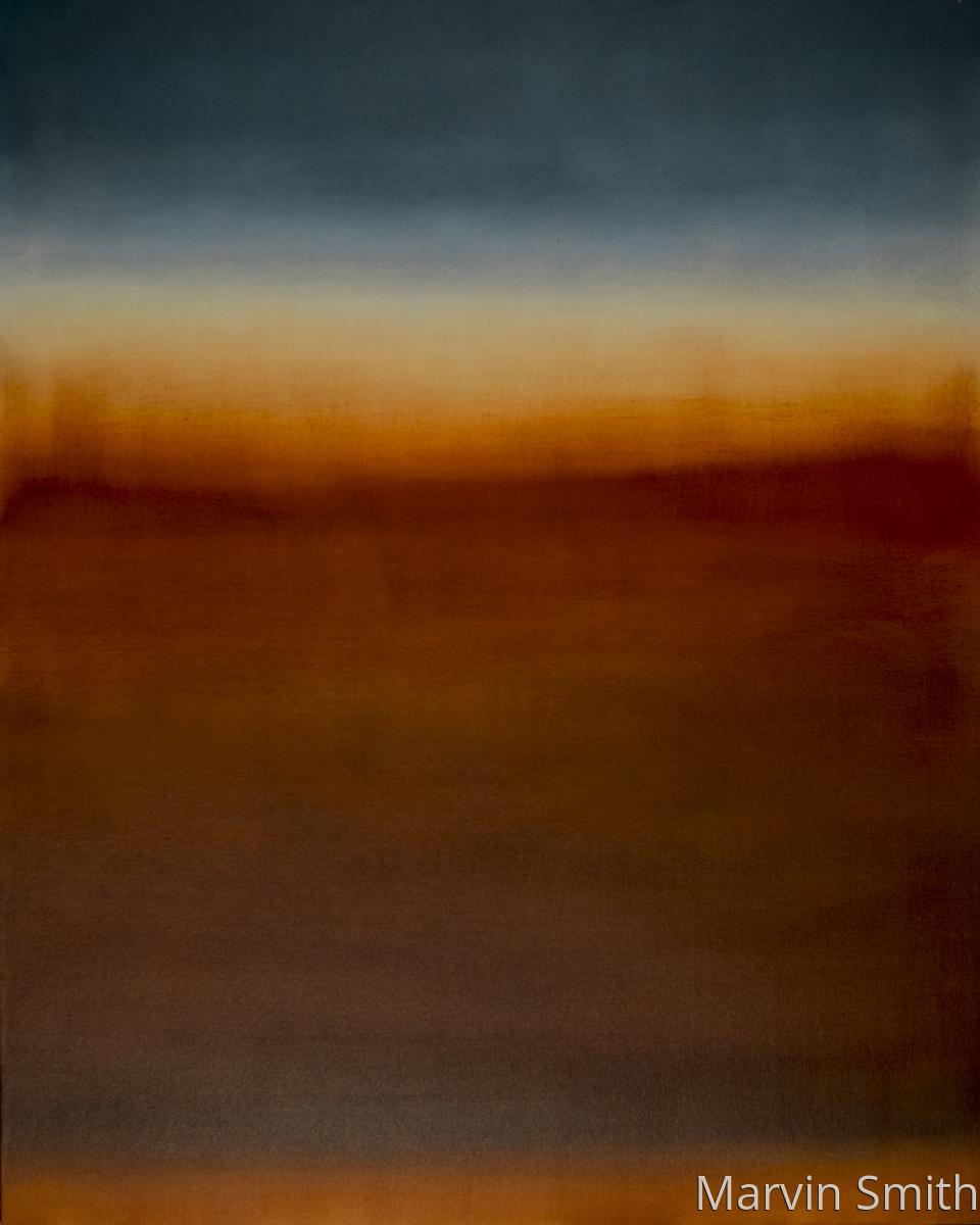 Untitled (Burnt Sienna & Ultramarine Blue) (large view)